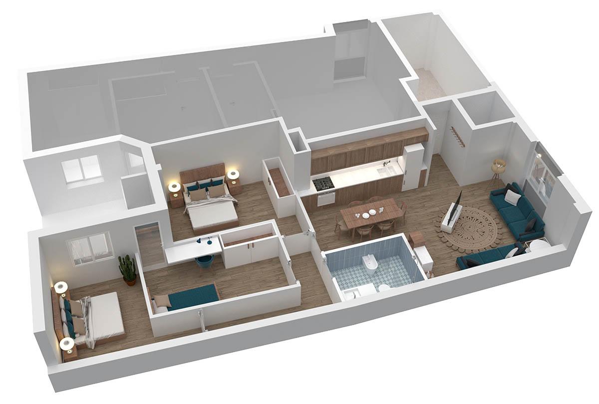 apartamento passivehouse